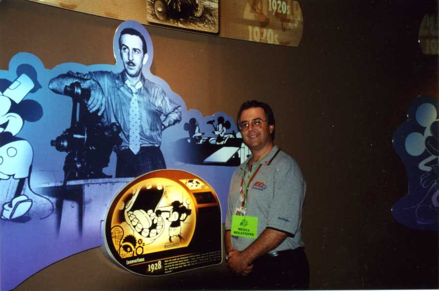 "Jon show producing ""Walt Disney: One Man's Dream"" at Disney World."